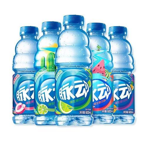 脉动维生素饮料600ml*4/15瓶整箱 水蜜桃味健康饮品