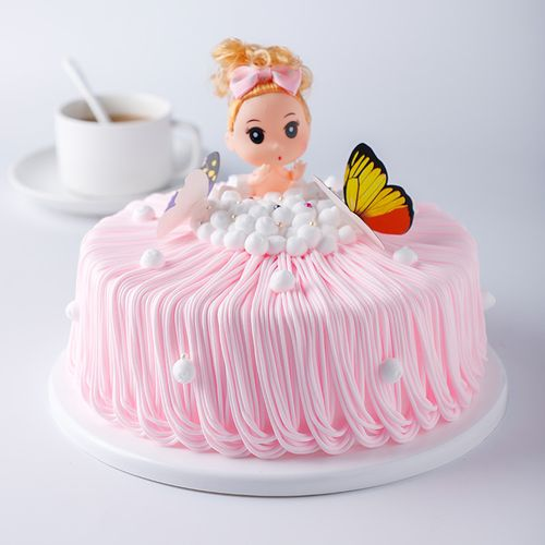 蛋糕模型仿真2020新款洗澡娃迷糊娃塑胶样品生日蛋糕