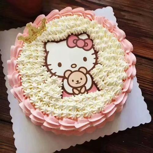 kitty猫奶油蛋糕-k03