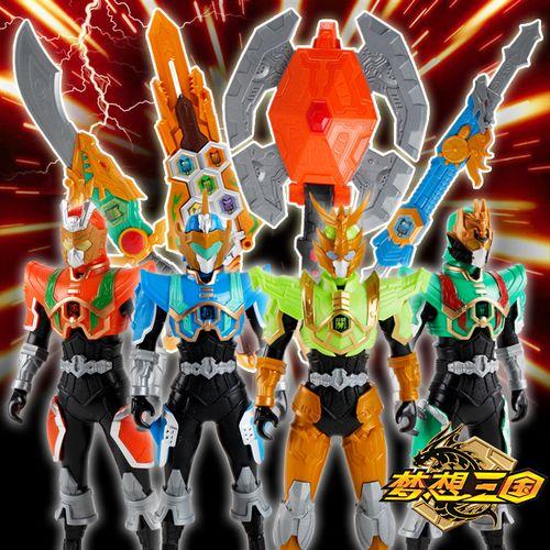梦想三国精诚的心群英传奇玩具传奇英雄人偶加武器