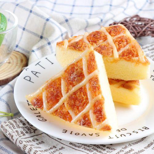 日式咸蛋黄肉松沙拉焗蛋糕下午茶糕点休闲网红办公零食品500g/箱