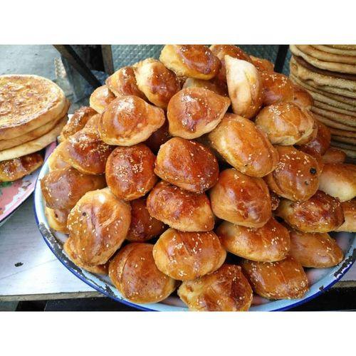 馕烤馕饼特色香酥小油馕葡萄干核桃仁芝麻烤馕饼早餐主食 甜香