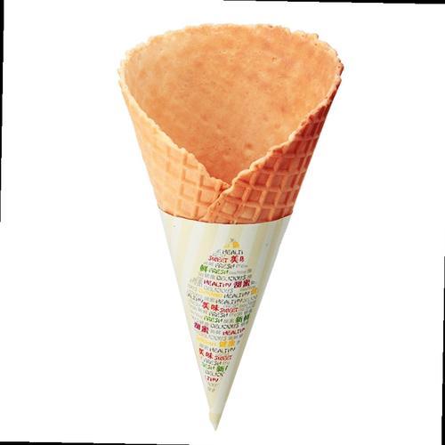 冰激凌34度巨无霸蛋筒甜筒脆皮蛋卷华夫壳水果圣代大号的物流