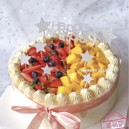 【上蔡】【 迪丽莎】精致系列生日蛋糕
