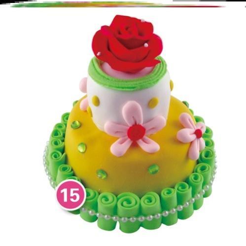 超轻粘土模具套装仿真食玩蛋糕黏土儿童diy手工蛋糕