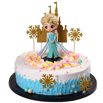 蛋糕模型 2020新款创意卡通蛋糕模型 儿童生日派对