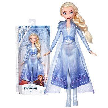冰雪奇缘2 女孩玩具模型玩偶儿童玩具生日礼物 冰雪奇缘2特色人物艾莎