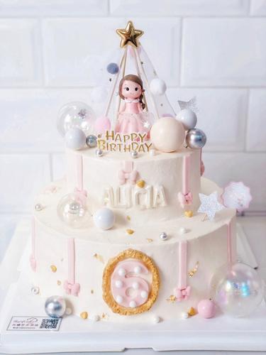 小公主奶油蛋糕