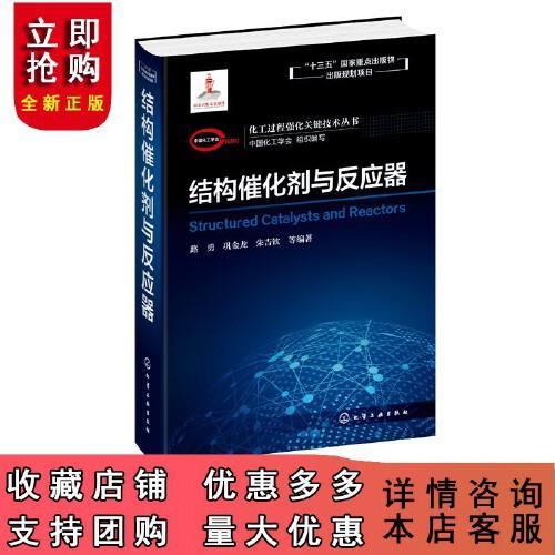 化工过程强化关键技术丛书 结构催化剂与反应器 路勇 巩金龙 朱吉钦