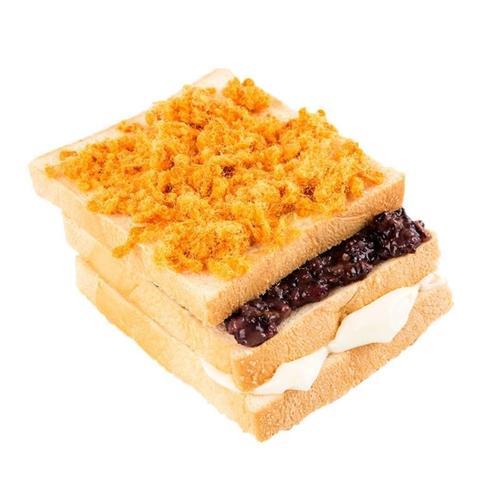 紫米面包夹心一整箱肉松三明治学生营养早餐蛋糕点零食品先用后付
