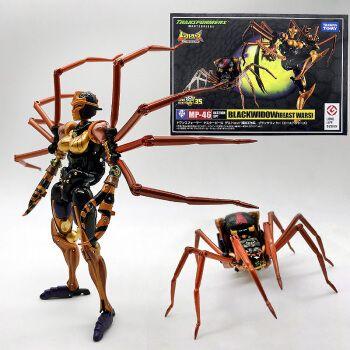 变形·金刚玩具大师mp46黑寡妇bw野兽战争蜘蛛超能勇士厂货 mp-46黑