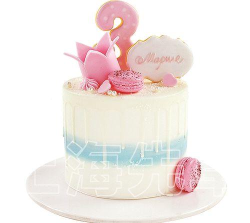 【正品】上海先卓仿真蛋糕模型 塑胶生日蛋糕模型数字翻糖饼干