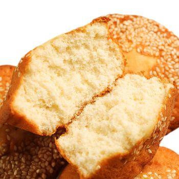 【鸡蛋量高】手工无水脆皮鸡零食麦香面包点心整箱 净重1斤【芝麻蛋糕