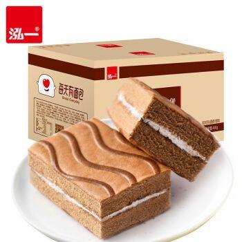泓一 提拉米苏夹心蛋糕西式夹心蛋糕学生早餐面包休闲