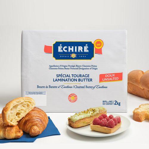 巴黎甜店法国恩喜村echire艾许发酵黄油含84%乳脂淡味