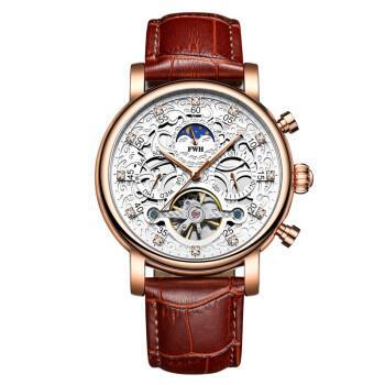 皇士fwh 男士机械手表 苍月系列