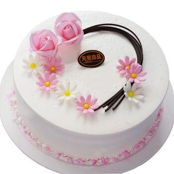 元祖 ganso 奶油水果鲜奶蛋糕 儿童生日蛋糕 成都重庆