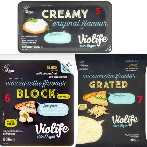 violife vegan block/grated mozzarella cheese严格素食奶酪芝士