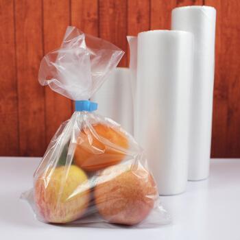 塑洁 加厚超市用袋连卷袋手撕袋保鲜袋食品袋子塑料袋