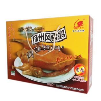 扬州风鹅星月菱塘牌风鹅1200克礼盒老鹅凤鹅年货礼品