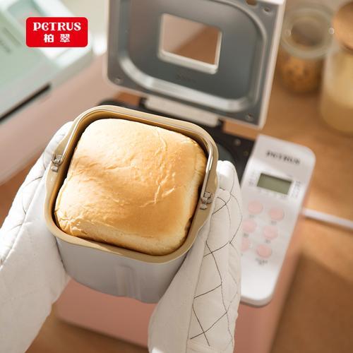 柏翠懒人双管蛋糕和面多功能早餐机家用全自动面包机
