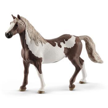 思乐schleich仿真动物马模型静态摆件野生动物园认知儿童玩具 花马阉