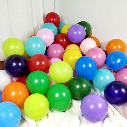 亚光气球批发婚礼庆房装饰派对网红儿童生日布置结婚用品大全北极象