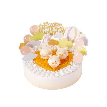 好利来 萌猫乐园 15cm酸奶提子味生日蛋糕仅限上海南京订购