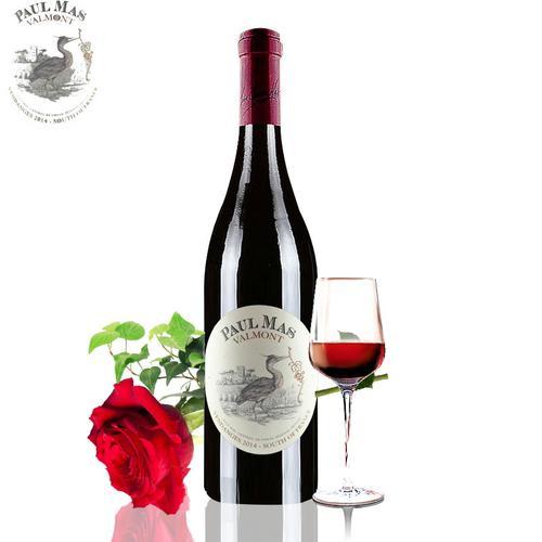法国原瓶进口保罗玛斯歌海娜美乐佳丽娘干红葡萄酒 西拉 750ml1瓶