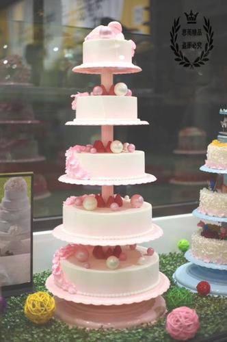 创意层单风格新款六柱生日蛋糕三层大寿九层架子支架