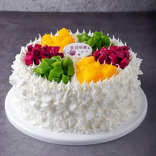 卡通甜品10寸蛋糕模型16寸生日蛋糕浪漫道具店.样品