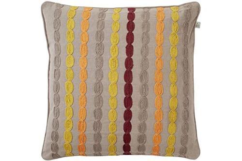 荷兰装饰 - 垫套 manova - 45x45cm - 灰褐色