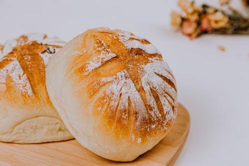紫米米面包