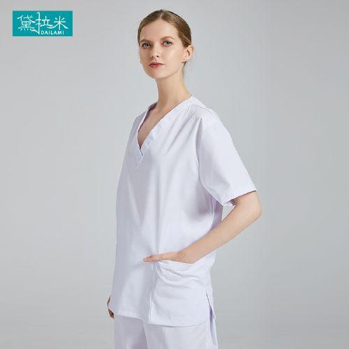 洗手衣女短袖夏季手术室工作服男刷手服外科医生分体