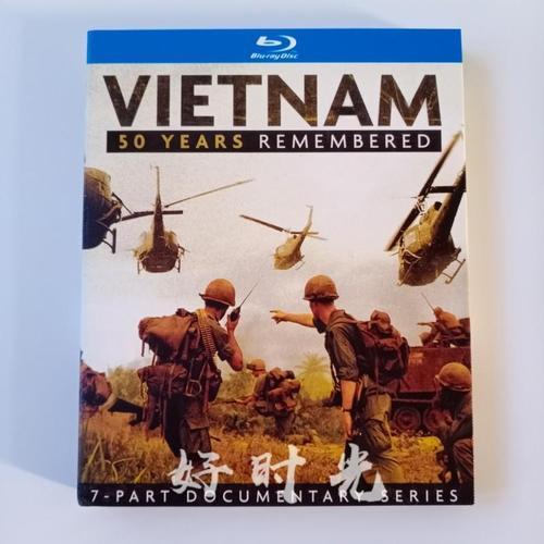 越战50年经典历史战争纪录片电影bd蓝光碟1080p高清7集完整版盒装