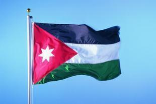 旗帜厂 各国旗子外国旗二号 约旦国旗2号240*160