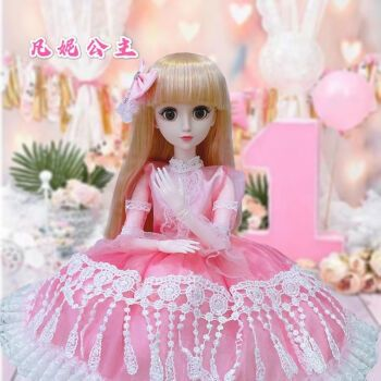 60厘米芭比娃娃超大套装女孩公主单个玩具60cm换装洋娃娃礼物礼盒