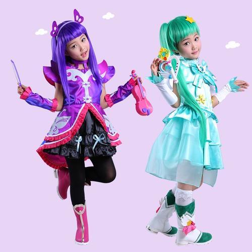 中国万圣节衣服巴啦啦儿童魔法战士魔力纯心裙子服装