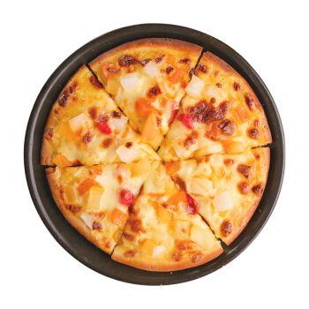 优利优客清真速冻半成品披萨微波炉加热即食 夏威夷水果披萨 7寸9寸
