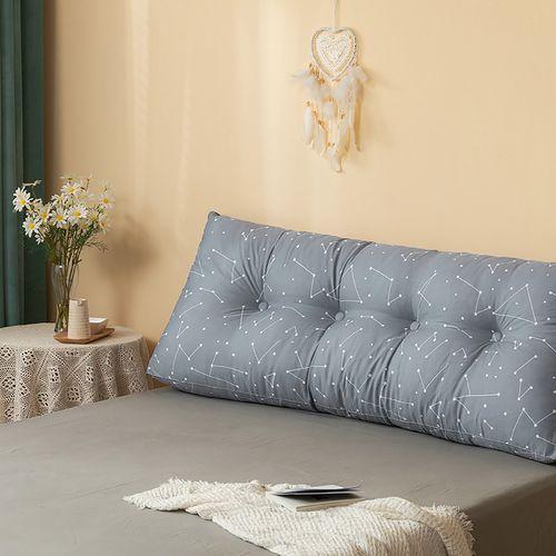 全棉床头靠垫三角双人沙发大靠背软包可拆洗榻榻米床