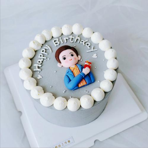 父亲节烘焙蛋糕装饰软陶爸爸父子父女奖杯插牌生日派对甜品台插件