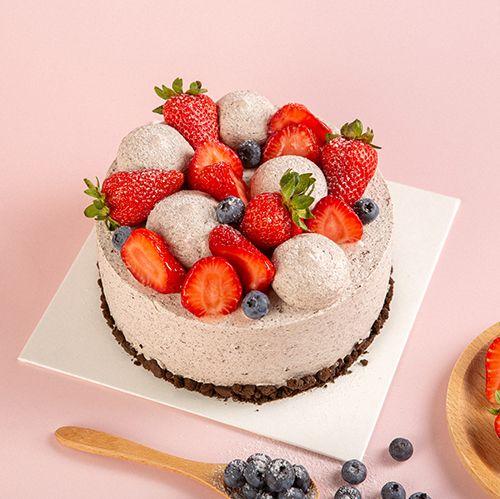 青岛配送蛋糕皇家美孚梦幻奥利奥网红好吃蛋糕免费