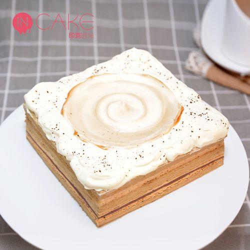 incake卡布基诺巧克力咖啡生日蛋糕网红映悦慕斯蛋糕
