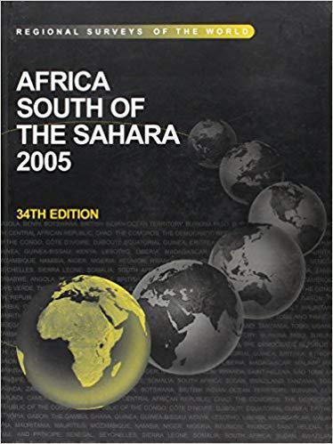 【预订】africa south of the sahara 2005