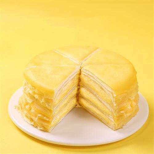 榴莲千层蛋糕300g冷冻甜品西式糕点下午茶点心