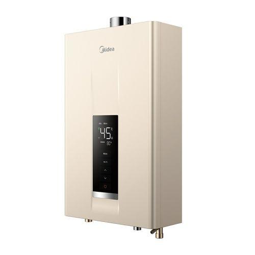 16l热水器 天然气 美的(midea) 零冷水燃气热水器 安全即热 水气双调