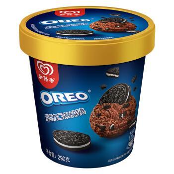 和路雪冰淇淋oreo奥利奥香草巧克力口味冰激凌290g冷饮雪糕家庭装