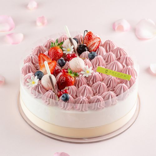 法颂蛋糕进口鲜乳奶油蛋糕欧式草莓水果蛋糕生日蛋糕
