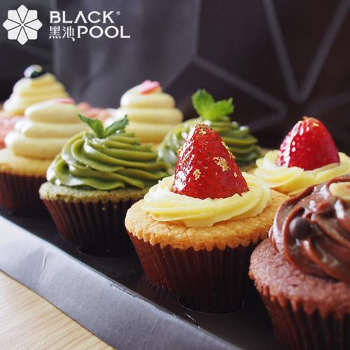 杯子蛋糕,精致欢聚礼盒-6种口味12个装