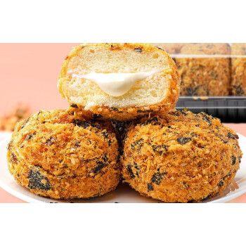 肉松小贝网红脏脏小贝饼爆浆沙拉酱海苔面包蛋糕点小吃联名款零食 1盒